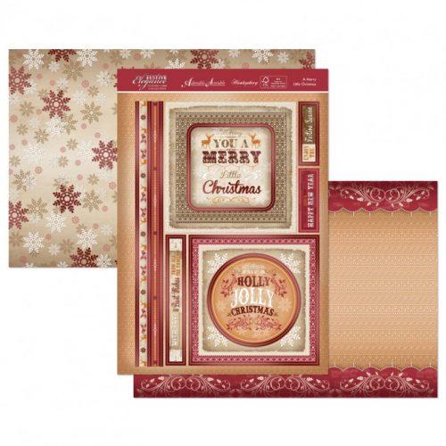 Hunkydory Christmas 3 Sheet Set - A Merry Little Christmas