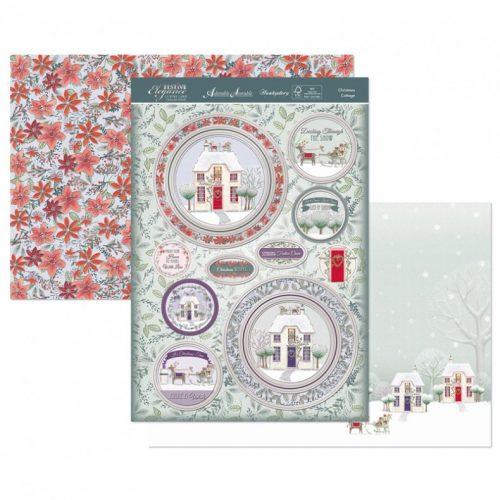 Hunkydory Christmas 3 Sheet Topper Set - Christmas Cottage