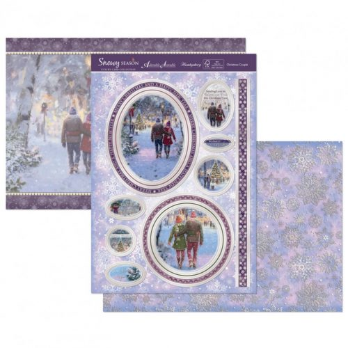 Hunkydory Christmas 3 Sheet Set - Christmas Couple