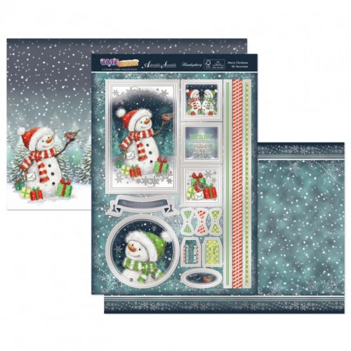 Hunkydory Christmas 3 Sheet Set - Merry Christmas Mr Snowman