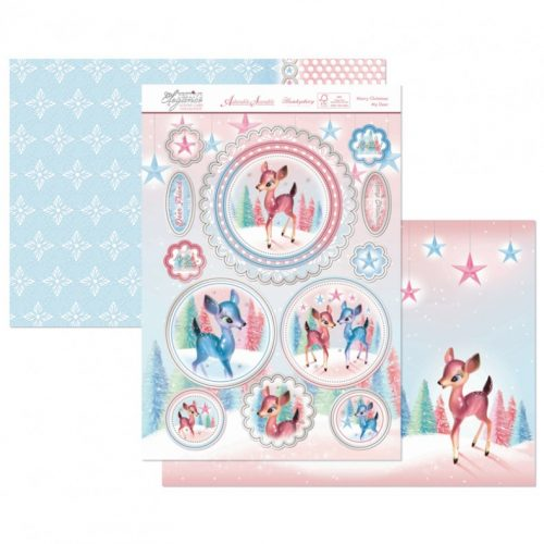 Hunkydory Christmas 3 Sheet Set - Merry Christmas My Deer
