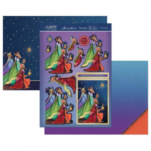 Hunkydory Christmas 3 Sheet Set - We Three Kings