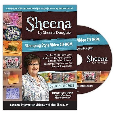 Crafters Companion Sheena Douglass Stamping Style Video CD-ROM