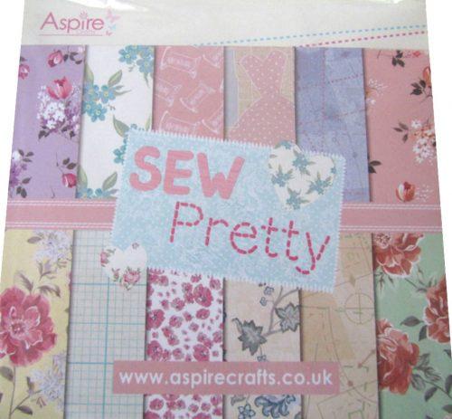 Kanban Aspire Crafts Sew Pretty 6x6 Elegant Paper Pad