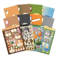 Hunkydory Box-Pops Perect Pals Luxury Card Collection