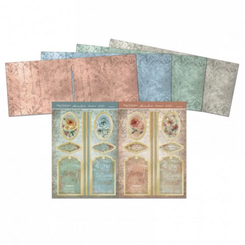 Hunkydory Antique Watercolour Standing Pop Up Cards