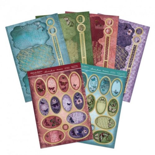 Hunkydory Flight Of The Butterflies Jewelled Ed Duo-Spinner Premium Card Kit