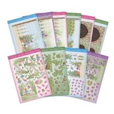 Hunkydory Secret Garden Gorgeous Garden Diorama Premium Card Kit