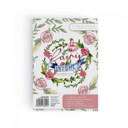 TONIC STUDIOS FAIRY WISHES A6 ILLUSTRATED PAPER PACK