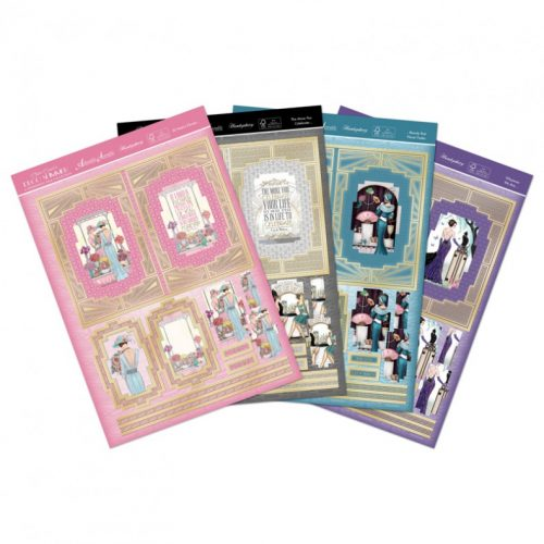 Hunkydory Deco Shimmer Twisted Accordion Premium Card Kit