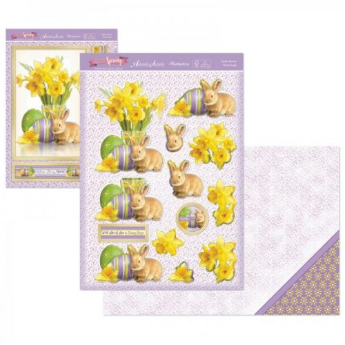 Hunkydory First Signs Of Spring DecoLarge Topper set Easter Bunny