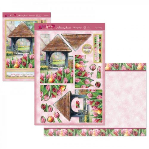 Hunkydory First Signs Of Spring DecoLarge Topper set Special day
