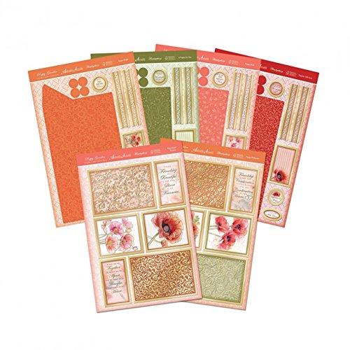 Hunkydory Poppy Garden DuoSlider Reveal Premium Card Kit