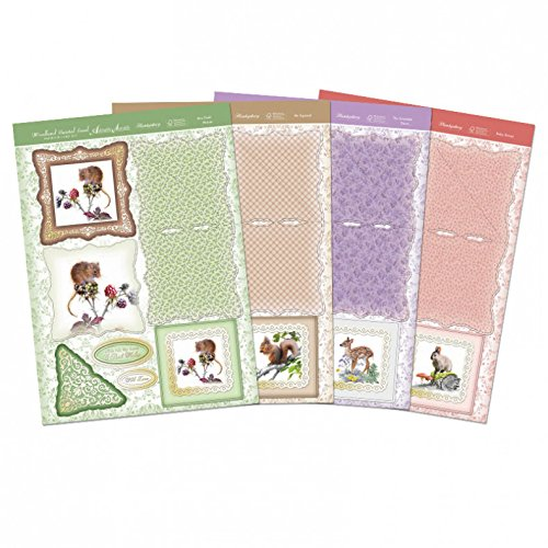 Hunkydory Autumn Delights Woodland Twisted Easel Cards