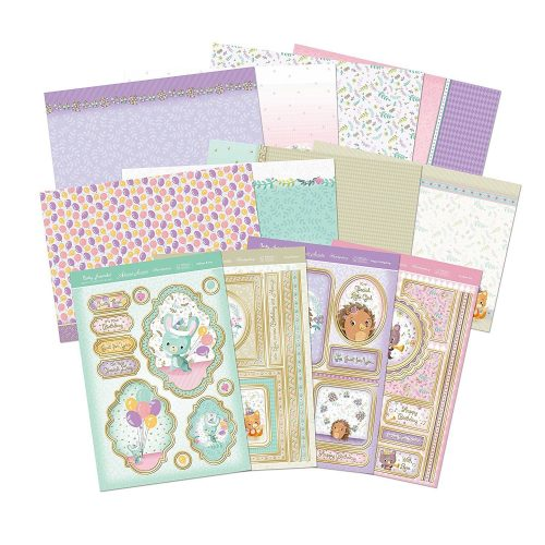 Hunkydory Party Animals A4 Deluxe Card Collection