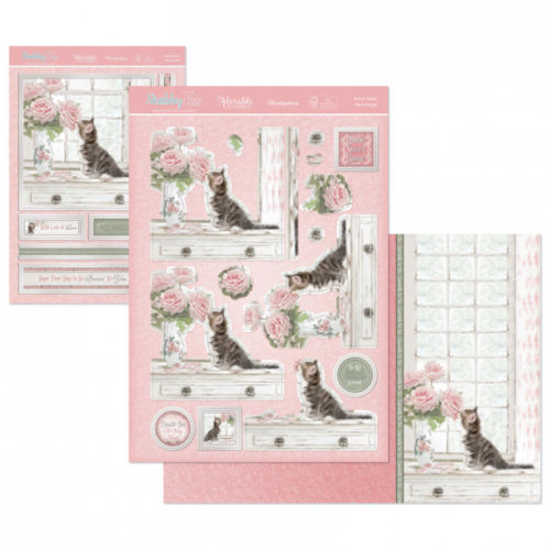 hunkydory shabby chic deco large topper and card set sweet. Black Bedroom Furniture Sets. Home Design Ideas