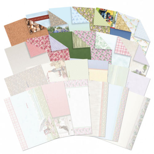 Hunkydory Shabby Chic and Rustic Charm 24 A4 Inserts and Papers