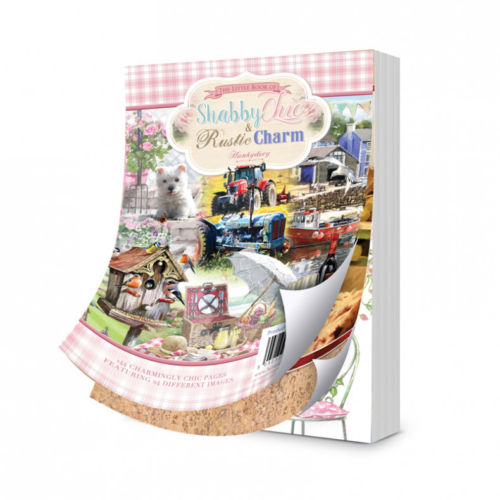 Hunkydory The Little Book of Shabby Chic and Rustic Charm A6