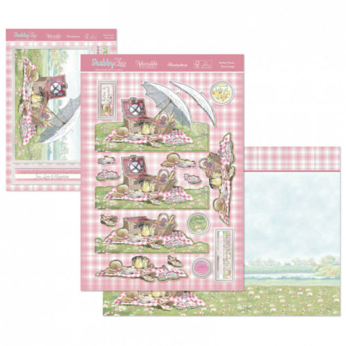 Hunkydory Shabby Chic Deco large Topper and Card Set Perfect Picnic
