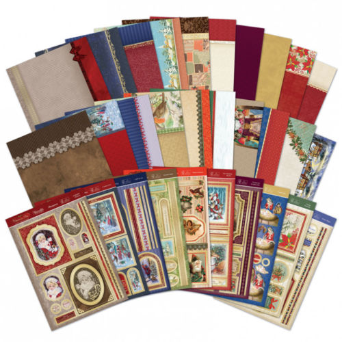 Hunkydory A Christmas Past Luxury Topper Collection 30 Sheets In Total