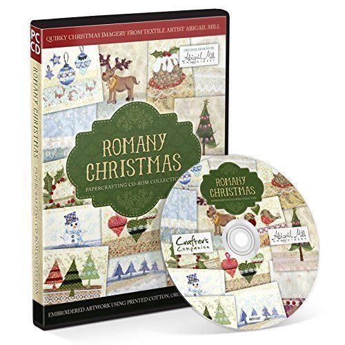 Crafters Companion Romany Christmas Papercrafting CD Collection