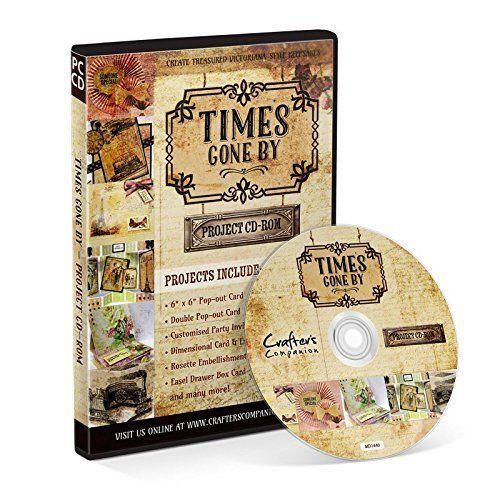 Crafters Companion Times Gone By Project CD ROM
