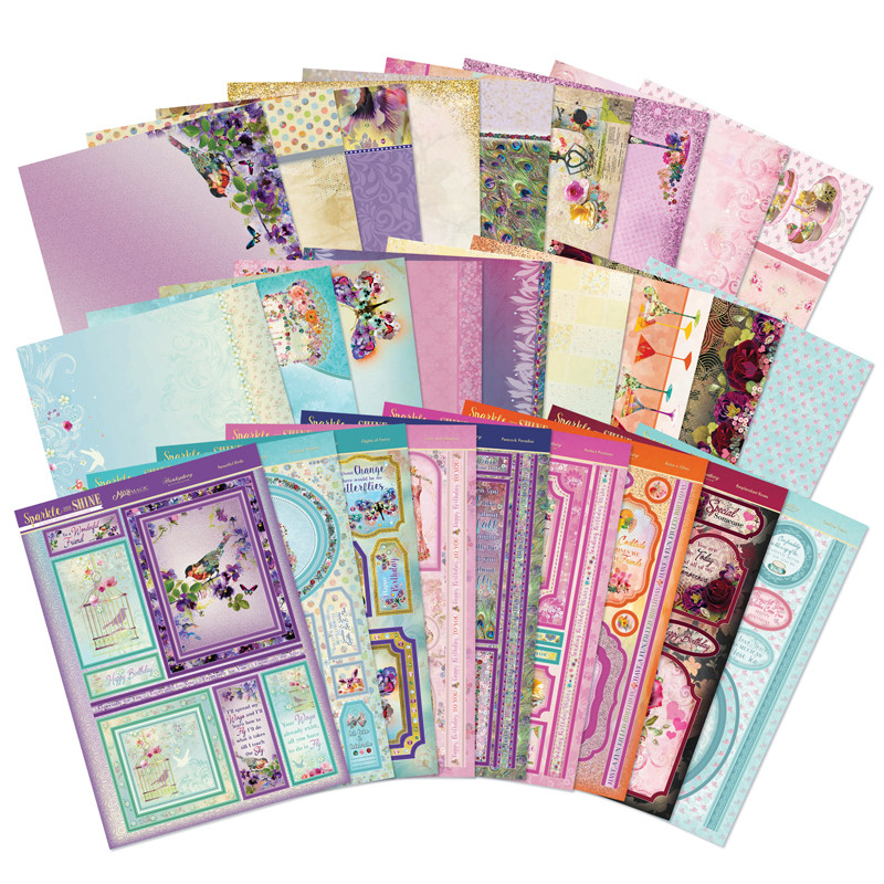 Hunkydory Flight of the Butterflies Duo Spinner Premium Card Kit