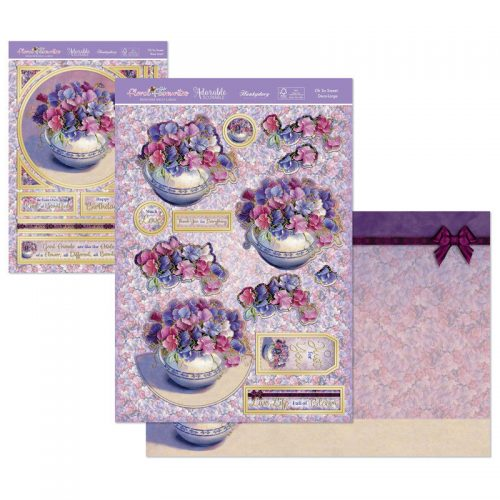 Hunkydory Floral Favourites Designer Deco Large Set Oh So Sweet