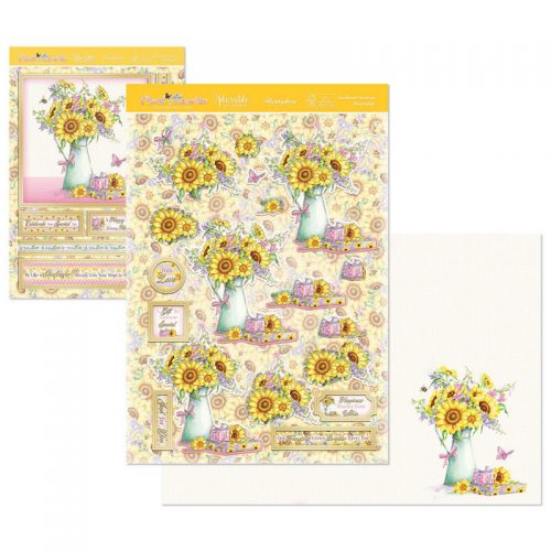 Hunkydory Floral Favourites Designer Deco Large Set Sunflower Surprise