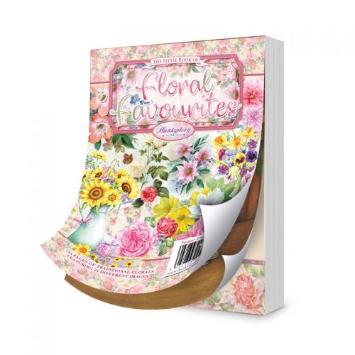 Hunkydory The Little Book Of Floral Favourites 144 Pages A6