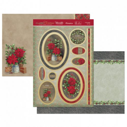 Hunkydory A Poinsettia for You Luxury Topper Set