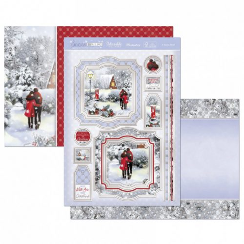 Hunkydory Crafts A Snowy Stroll Luxury Topper Set
