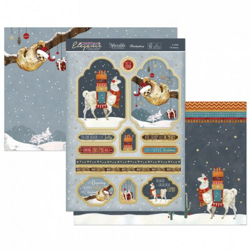 Hunkydory A Wild Christmas Luxury Topper Set