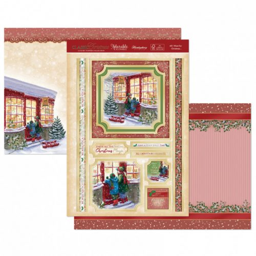 Hunkydory All I Want for Christmas Luxury Topper Set