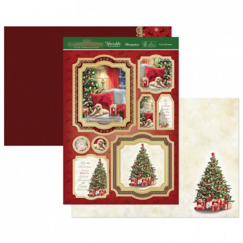 Hunkydory Cosy Christmas Luxury Topper Set