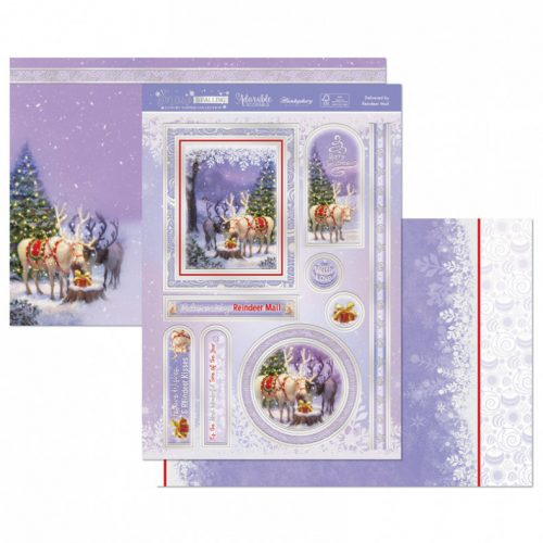 Hunkydory Crafts Delivered by Reindeer Mail Luxury Topper Set