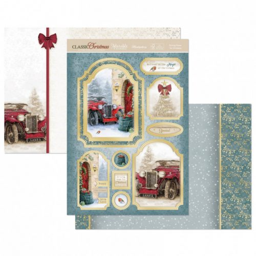 Hunkydory Driving Home for Christmas Luxury Topper Set