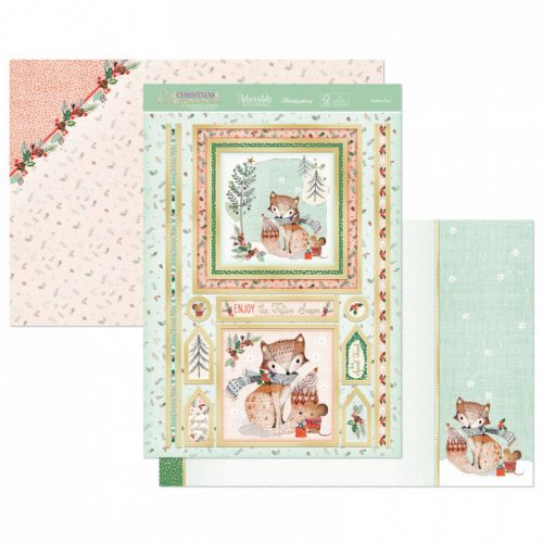 Hunkydory Festive Fox Luxury Topper Set