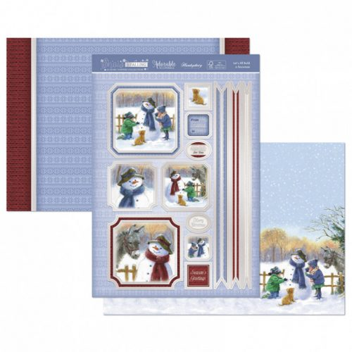 Hunkydory Crafts Lets All Build a Snowman Luxury Topper Set