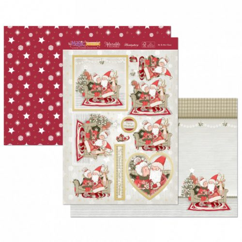 Hunkydory Mr and Mrs Claus Luxury Topper Set