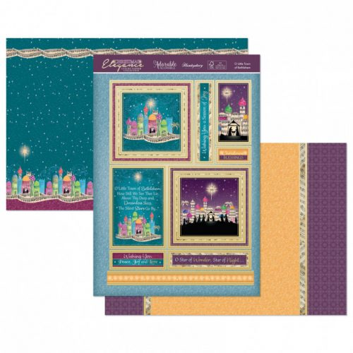 Hunkydory O' Little Town of Bethlehem Luxury Topper Set