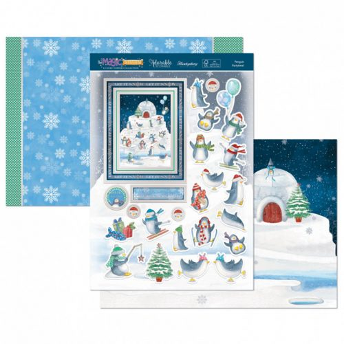 Hunkydory Penguin Partytime! Luxury Topper Set