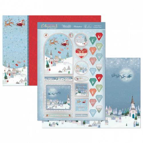 Hunkydory Santa Claus is Coming to Town Luxury Topper Set