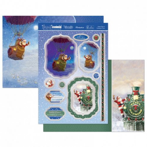Hunkydory Crafts Santa Claus is Coming to Town Luxury Topper Set