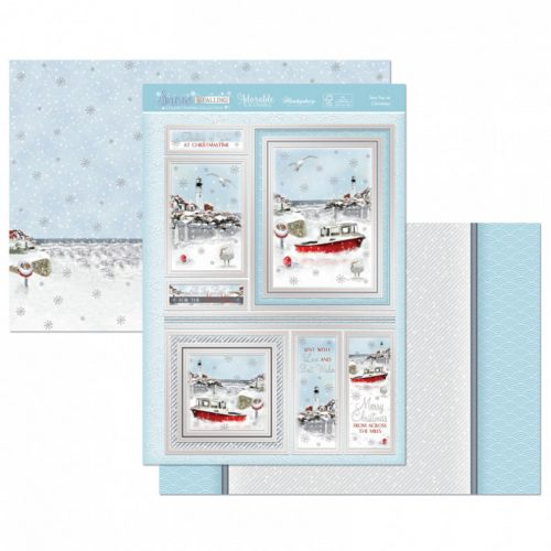 Hunkydory Sea You at Christmas Luxury Topper Set