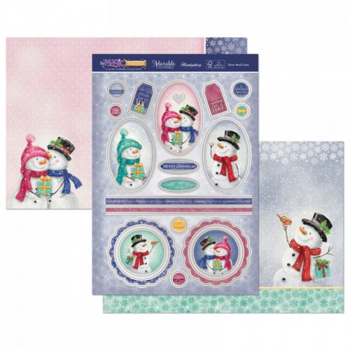 Hunkydory Snow Much Love Luxury Topper Set