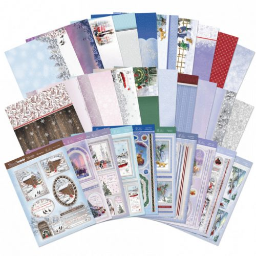 Hunkydory Snow is Falling Luxury Topper Collection