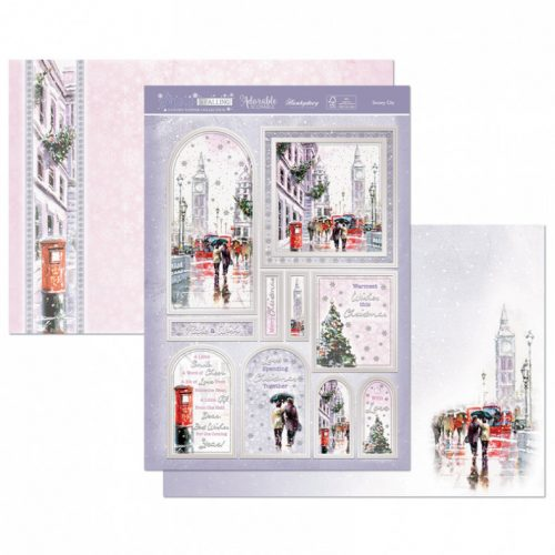 Hunkydory Crafts Snowy City Luxury Topper Set