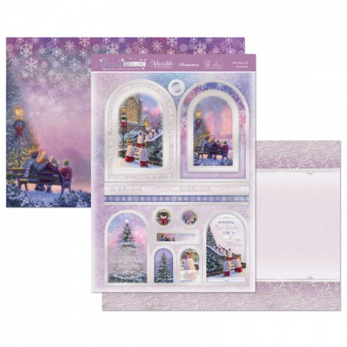 Hunkydory Crafts The Music of Christmas Luxury Topper Set
