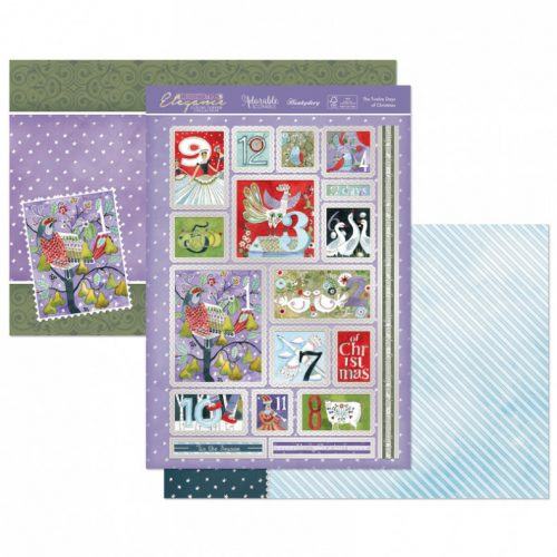 Hunkydory The Twelve Days of Christmas Luxury Topper Set